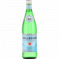 Вода минеральная «San Pellegrino» газированная 0,75 л.