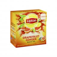 Чай чёрный «Lipton» Grapefruit Gingeri, 36 г.