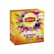 Чай чёрный «Lipton» Saffron Plum, 36 г.