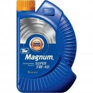 Масло моторное «ТНК Magnum Super» 5W-40, 1 л.
