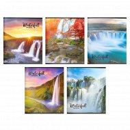 Тетрадь «Водопады» 48 листов