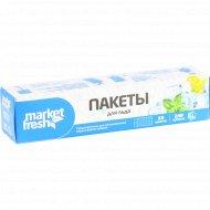 Пакеты для льда «Market fresh» 10 пакетов.