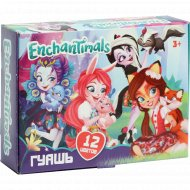 Гуашь «Enchantimals» 12 цветов.