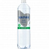 Вода минеральная «Нарач» газированная, 1.5 л.
