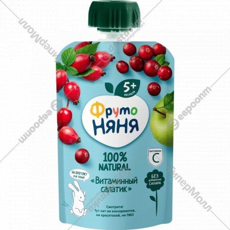 Пюре «Фруто Няня» витаминный салатик 90 г.
