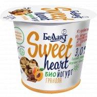 Биойогурт «Sweet heart» гранола 3%, 150 г.