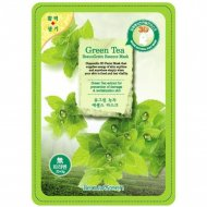 Маска для лица «Beauugreen» 3D с экстрактом зеленого чая.
