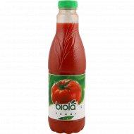 Сок томатный «Biola» с мякотью и солью, 1 л.