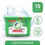 Капсулы для стирки «Ariel» Горный родник, 15х28.8 г