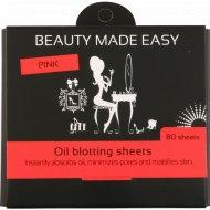 Салфетки бумажные «Beauty Made Easy» матирующие, 80 шт.