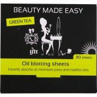 Матирующие бумажные салфетки «Beauty Made Easy» 80 шт.