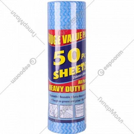 Набор салфеток в рулоне, 25х30 см, 50 шт.