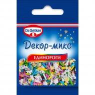 Кондитерское изделие «Д-р Оеткер» Декор-микс, Единороги, 10 г