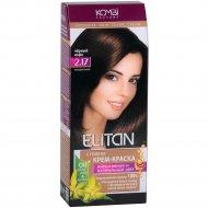 Крем-краска для волос «Элитан» 2.17 черный кофе.