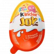 Шоколадное яйцо «Kinder» Joy в ассортименте, 20 г.
