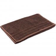 Полотенце махровое «Foroom» 50 х 90 см, коричневый.
