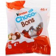 Конфеты с молочно-ореховой начинкой «Kinder choco-bons» 46 г.