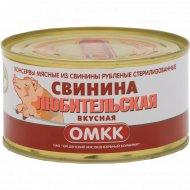 Консервы мясные «ОМКК» свинина любительская вкусная, 325 г