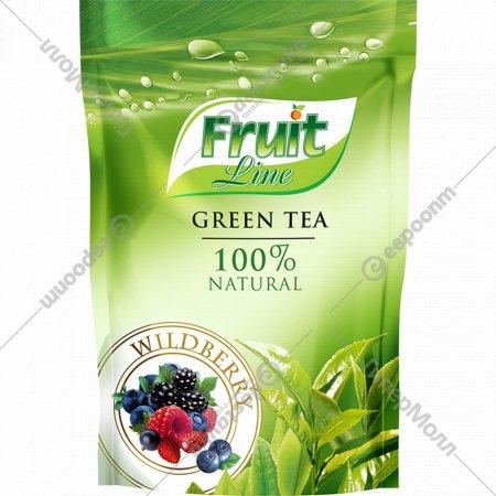 Чай зеленый листовой «Fruit Line» лесные ягоды, 100 г.