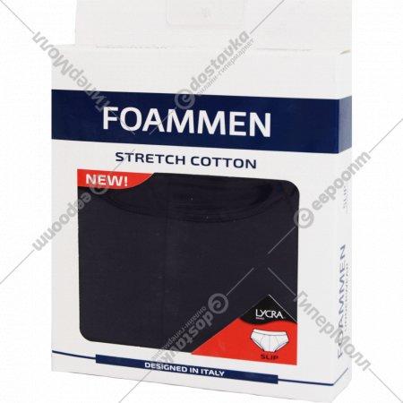 Трусы мужские «Foammen» однотонные слипы, синие, 1 шт.