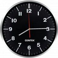 Настенные часы «Centek» СТ-7100, black