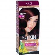 Крем-краска для волос «Элитан» 4.65 шоколадная вишня.