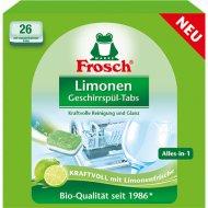 Таблетки для мытья посуды в ПММ «Frosch» лимон, 26 шт.