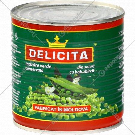 Горошек консервированный «Delicita» 425 г.