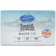 Масло сладкосливочное «Крестьянское» несоленое, 72.5%, 180 г