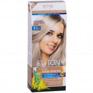 Крем-краска для волос «Элитан» 9.82 платиновый светло-светло-русый.