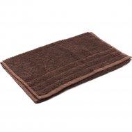 Полотенце махровое «Foroom» 40 х 70 см, коричневый.