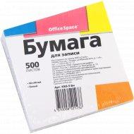 Бумага для записи 9х9х5см, белая 500 листов.