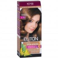 Крем-краска для волос «Элитан» 7.32 золотистый тепло-русый.