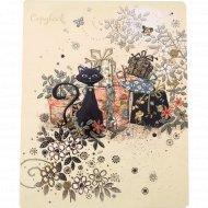 Тетрадь «Багарт-Черная кошка ML Премиум» A5 клетка, 48 листов.