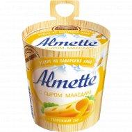 Сыр творожный «Almette» с сыром маасдам, 60 %, 150 г.