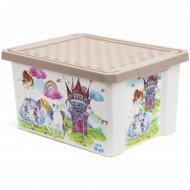Детский ящик для хранения «Сказочная Принцесса» 17 л.
