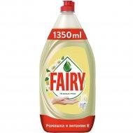 Средство для мытья посуды «Fairy» ромашка и витамин E, 1.35л.