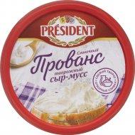 Сыр-мусс творожный «President» сливочный, 62%, 120 г.