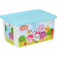Детский ящик для хранения «Малышарики» 57 л.