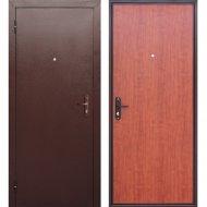 Дверь входная «Гарда» Стройгост 5 РФ, Медный антик/Рустикальный дуб, R, 205х96 см
