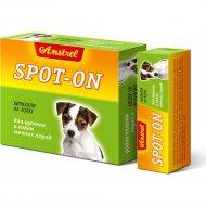 Биокапли антипаразитарные «Amstrel» для щенков и собак мелких пород.