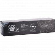 Зубная паста «Ecodenta» black whitening toothpaste, 100 мл