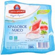 Крабовое мясо «Бремор» классическое охлажденное 200 г.