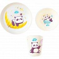 Набор детской посуды «Panda».
