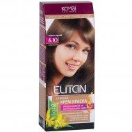 Крем-краска для волос «Элитан» 6.10 темно-русый.