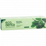Зубная паста «Ecodenta» brilliant whitening toothpaste, 100 мл