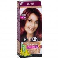 Крем-краска для волос «Элитан» 6.56 терпкий бургунди.