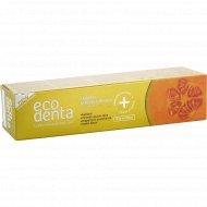 Зубная паста «Ecodenta» enamel strengthening toothpaste, 100 мл