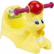 Горшок-игрушка «LittleAngel» Зайчик, желтый