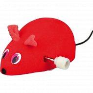 Игрушка «Trixie» для кошки в виде заводной мыши, войлок, 7 см.